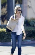 DENISE RICHARDS Out for Lunch at a Sushi Restaurant in Malibu 11/22/2015