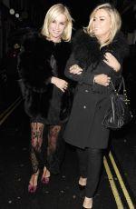 DENISE VAN OUTEN Leaves Mr Froggs Tavern in London 11/28/2015