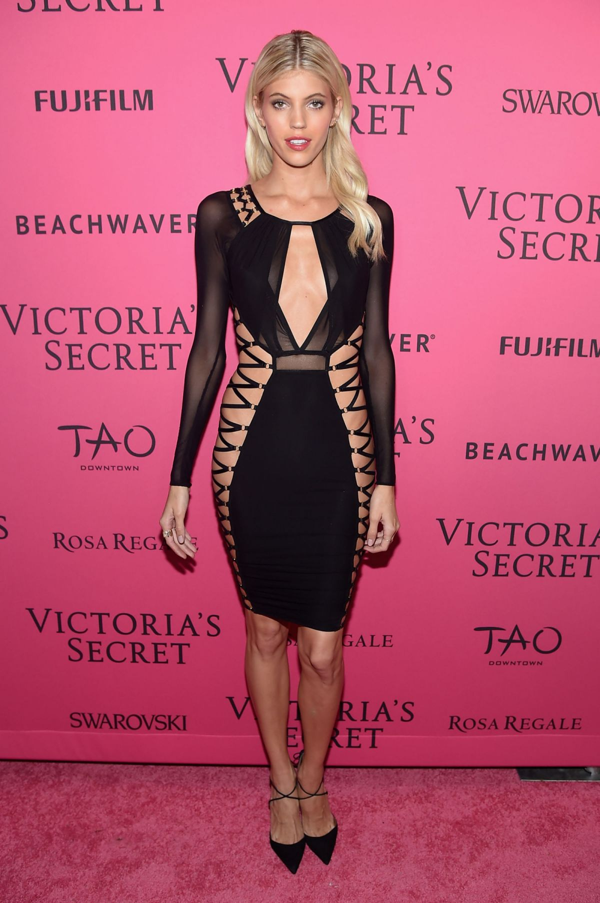 DEVON WINDSOR at Victoria's Secret 2015 Fashion Show After Party 11/10/2015