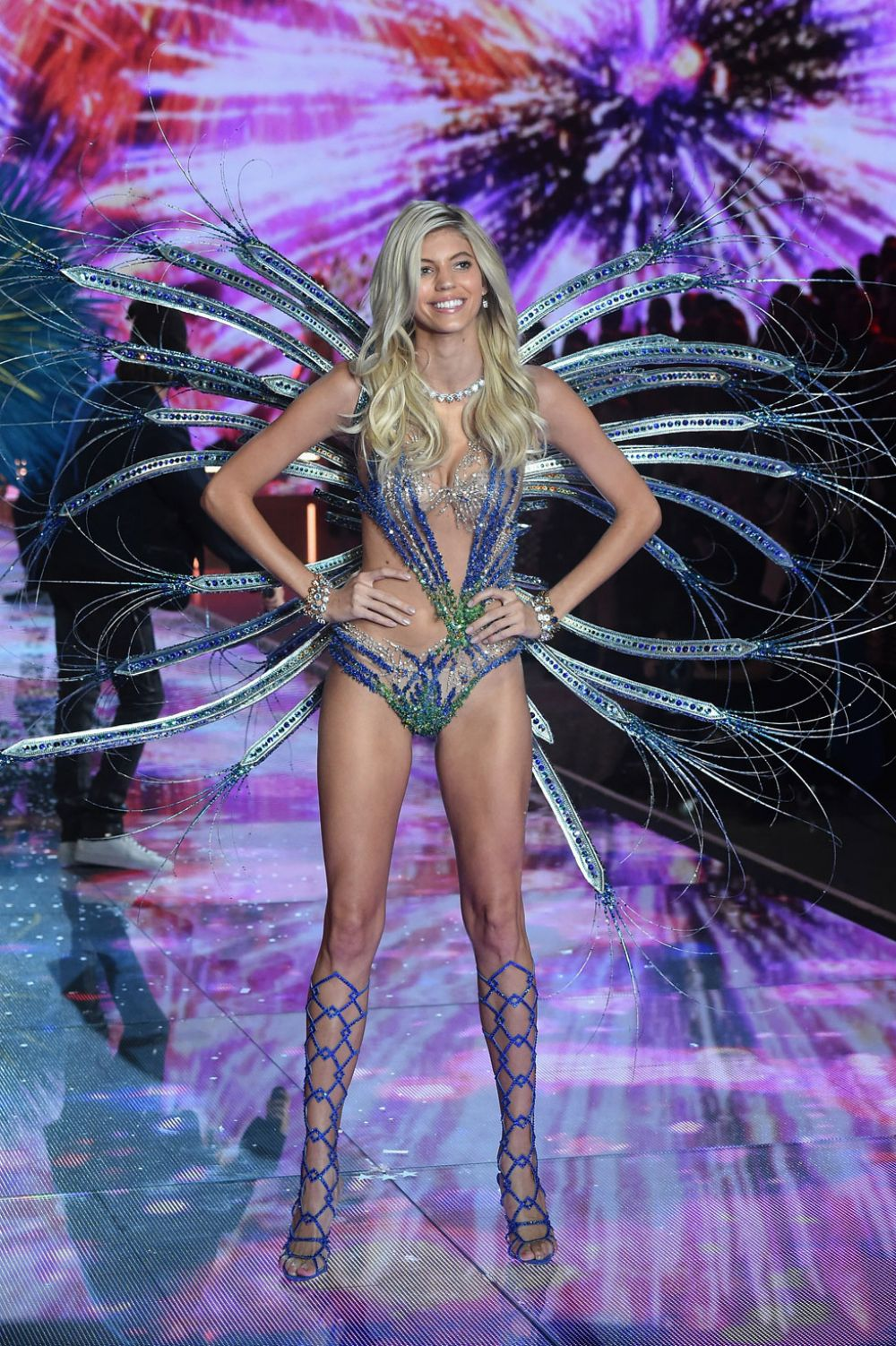 DEVON WINDSOR at Victoria's Secret 2015 Fashion Show in New York 11/10/2015