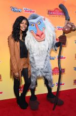DIAMOND WHITE at The Lion Guard: Return of the Roar Premiere in Burbank 11/14/2015