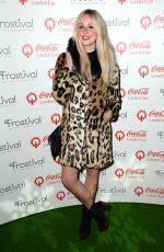 DIANA VICKERS at Coca Cola London Eye Frostival Eyeskate in London 11/18/2015