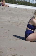 DIANA VICKERS in Bikini at a Beach in Santa Monica 10/30/2015