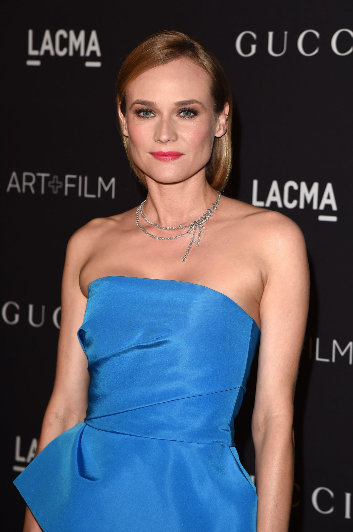 DIANE KRUGER at LACMA 2015 Art+Film Gala Honoring James Turrell and Alejandro G Inarritu in Los Angeles 11/07/2015