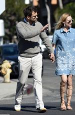 DIANE KRUGER Out and About in West Hollywood 11/12/2015
