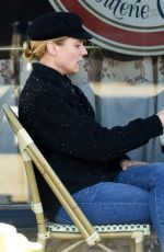 DIANE KRUGER Out for Breakfast in West Hollywood 11/06/2015