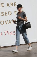 DIANE KRUGER Shopping at the Grove in Hollywood 11/07/2015