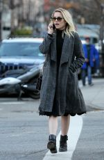 DIANNA AGRON Out and About in New York 11/20/2015