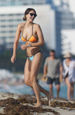 EIZA GONZALEZ in Bikini at a Beach in Miami 11/27/2015