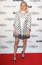 EKKIE GOULDING at Glamour's 25th Anniversary Women of the Year Awards in New York 11/09/2015