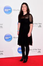ELISA BRAY at 2015 Mercury Music Prize at BBC Broadcasting House in London 11/20/2015