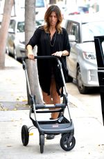 ELISABETTA CANALIS Out and About in Los Angeles 10/28/2015