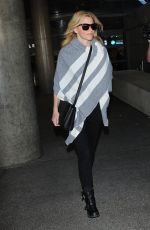 ELIZABETH BANKS at LAX Airport in Los Angeles 11/06/2015
