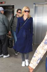 ELIZABETH BANKS at LAX Airport in Los Angeles 11/15/2015
