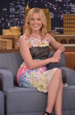 ELIZABETH BANKS at The Tonight Show Starring Jimmy Fallon in New York 11/12/2015