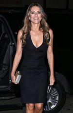 ELIZABETH HURLEY Night Outin New York 11/11/2015