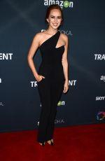 ELIZABETH MCLAUGHLIN at Transparent Season 2 Premiere in West Hollywood 11/09/2015