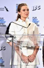 ELIZABETH OLSEN at 31st Film Independent Spirit Awards Nominations Press Conference in Hollywood 11/24/2015