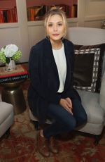 ELIZABETH OLSEN at Talent Junket Interview at 18th Annual Savannah Film Festival 10/31/2015