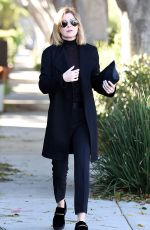 ELLEN POMPEO Out and About in West Hollywood 11/17/2015