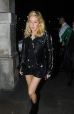 ELLIE GOULDING at Sexy Fish Restaurant in London 11/04/2015