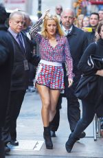 ELLIE GOULDING Leaves 2015 Victoria's Secret Show Rehersal in New York 11/10/2015