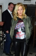 ELLIE GOULDING Leaves BBC Radio 1 Live Lounge in London 11/04/2015
