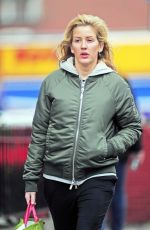 ELLIE GOULDING Out and About in London 11/29/2015