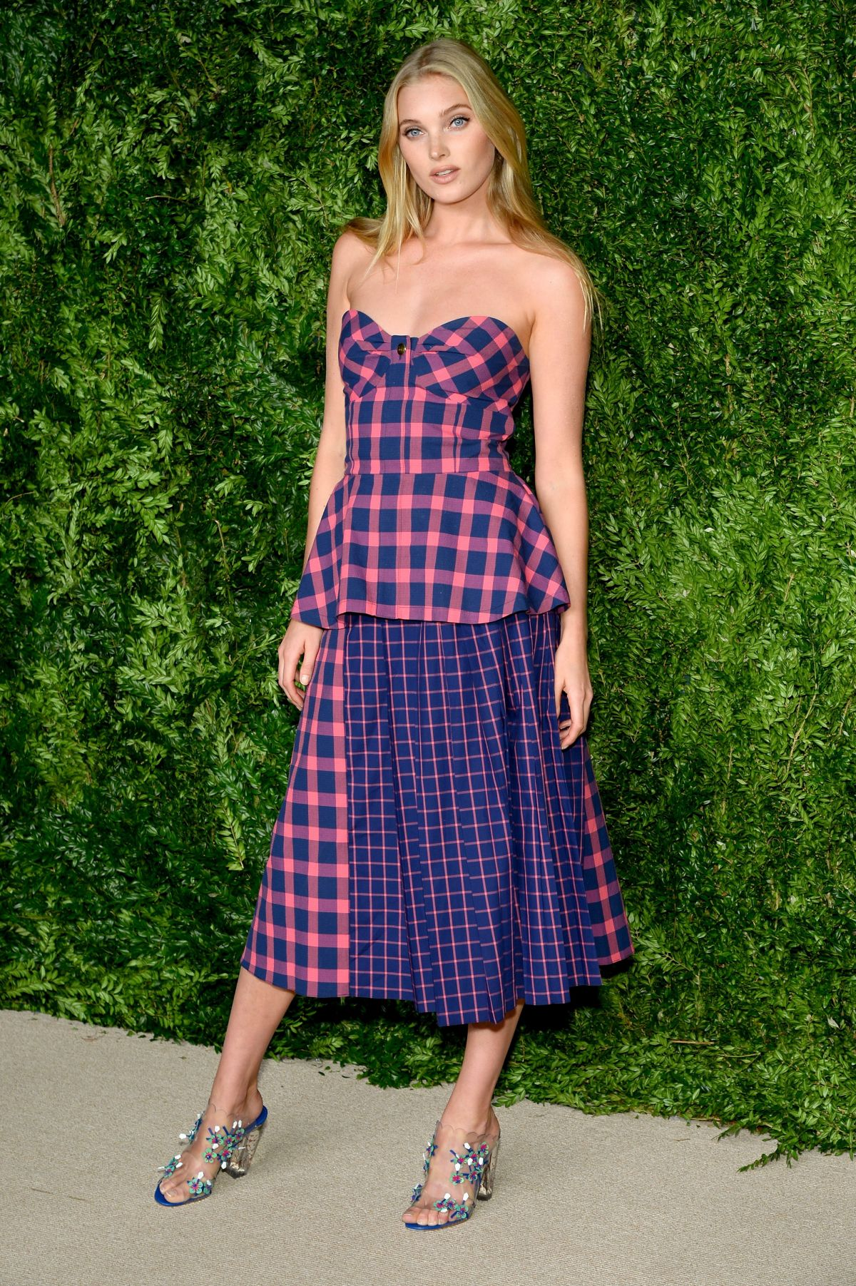 ELSA HOSK at 12th Annual CFDA/Vogue Fashion Fund Awards in New York 11/02/2015