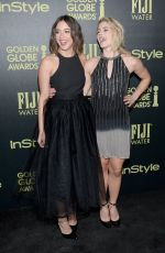 EMILY BETT RICKARDS at hfpa and Instyle Celebrate 2016 Golden Globe Award Season in West Hollywood 11/17/2015
