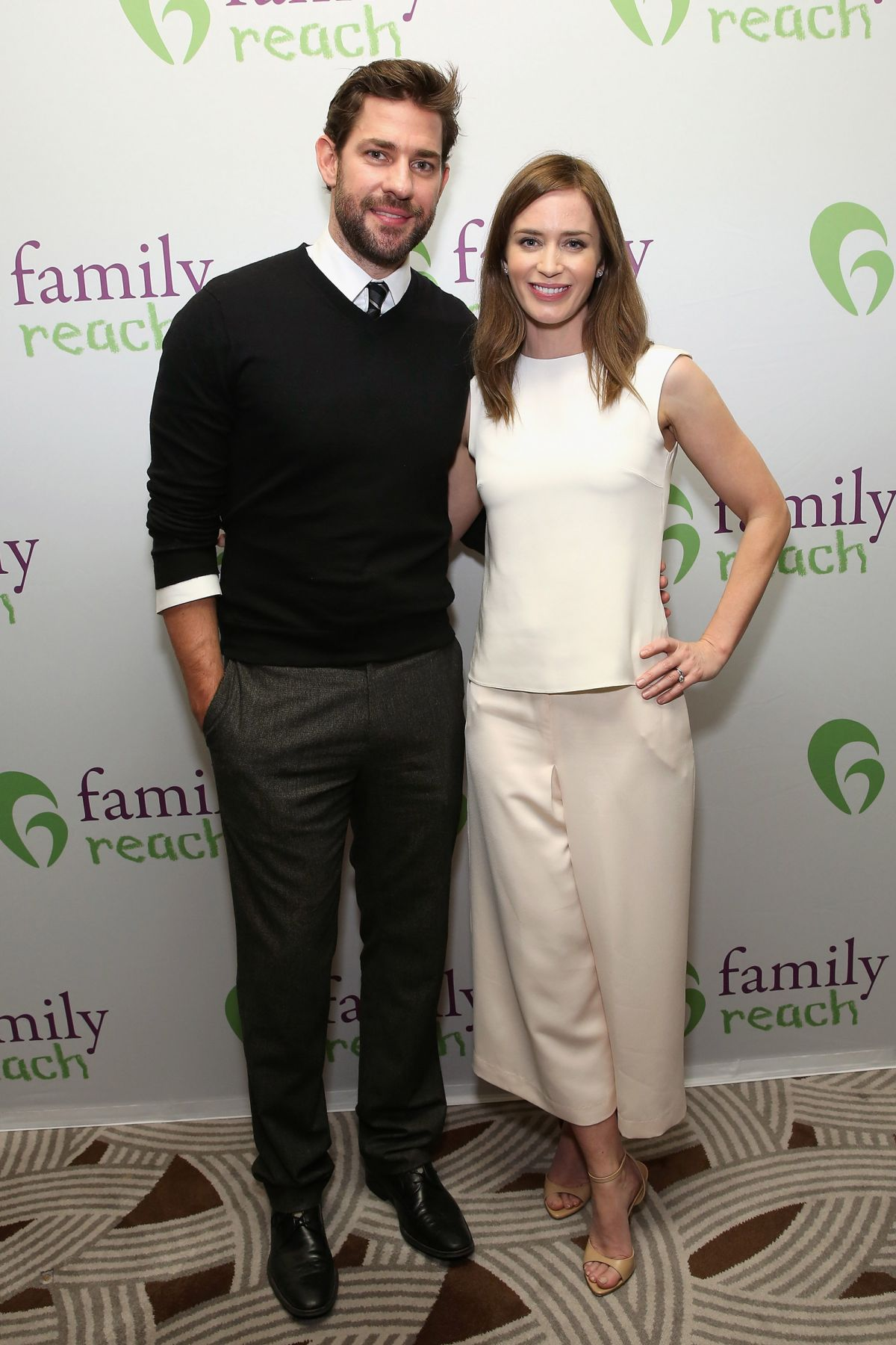 EMILY BLUNT at Family Reach