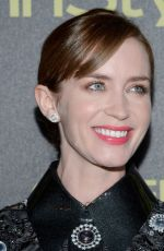 EMILY BLUNT at hfpa and Instyle Celebrate 2016 Golden Globe Award Season in West Hollywood 11/17/2015