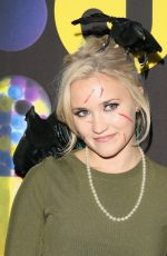 EMILY OSMENT at Just Jared Halloween Party in Hollywood 10/31/2015