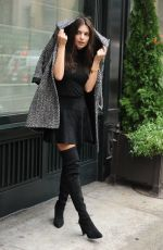 EMILY RATAJKOWSKI Out and About in New York 11/19/2015