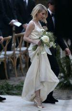 EMMA ROBERTS as a Bridesmaid at Kara Smith