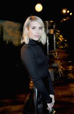 EMMA ROBERTS at Louis XIII Celebration of 100 Years The Movie You Will Never See in Los Angeles