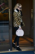 EMMA ROBERTS Leaves Ritz-Carlton in New York 11/24/2015