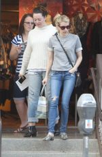 EMMA ROBERTS Out Shopping in Los Angeles 11/02/2015
