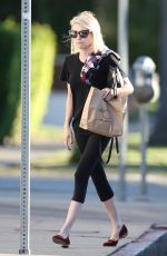 EMMA ROBERTS Out Shopping in West Hollywood 11/23/2015