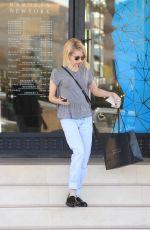 EMMA ROBERTS Shopping at Barney