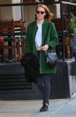 EMMA STONE Out and About in New York 11/14/2015