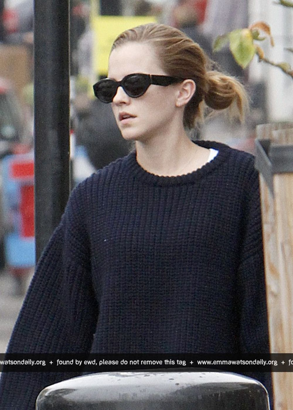 EMMA WATSON Out and About in London 11/03/2015