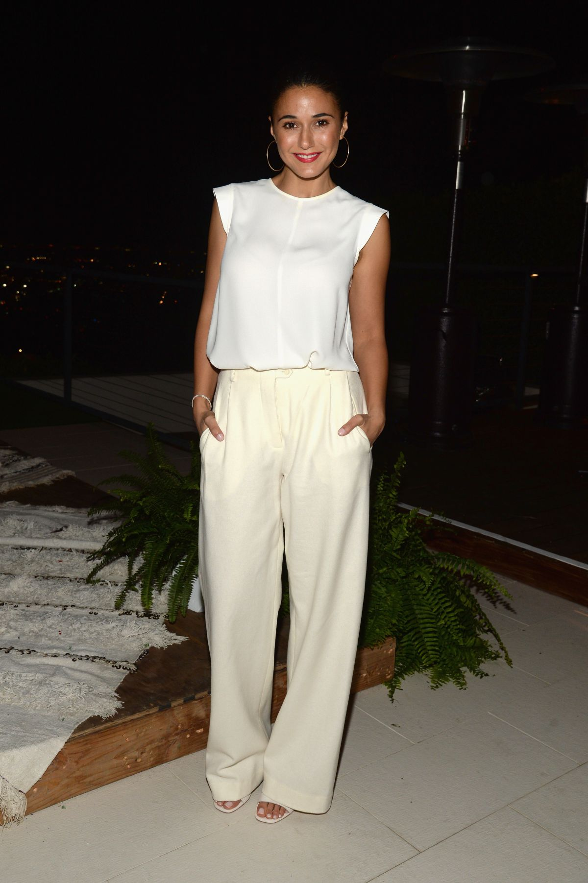 EMMANUELLE CHRIQUI at #letsbehonest Campaign Launch in Los Angeles 11/05/2015