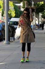 EMMY ROSSUM Out and About in Beverly Hills 11/11/2015