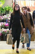 EMMY ROSSUM Out for Shopping in Los Angeles 11/25/2015