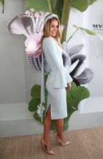 ENNIFER HAWKINS at Oaks Day at Flemington Racecourse in Melbourne 11/05/2015