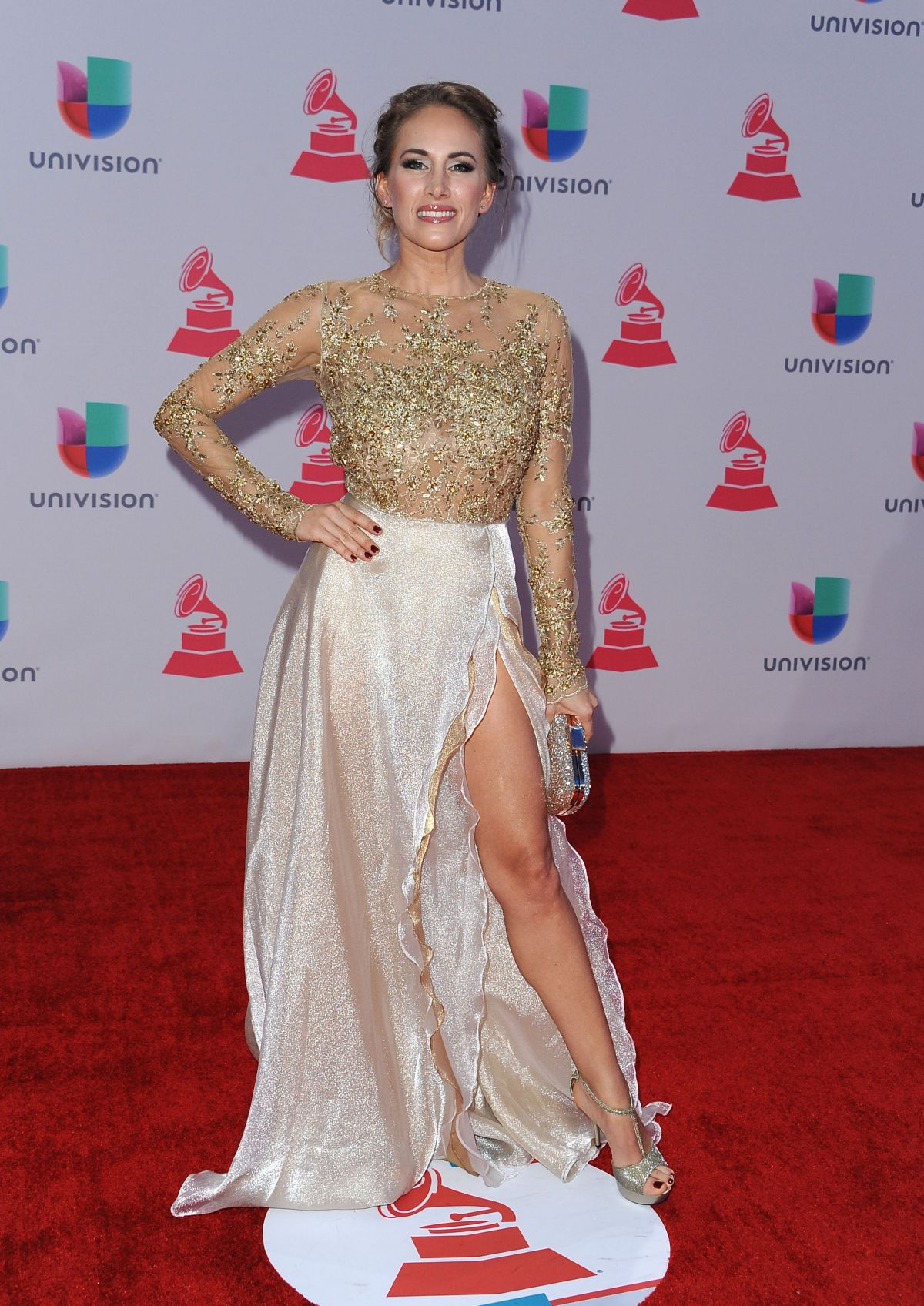 ERIKA BRUNI at 2015 Latin Grammy Awards in Las Vegas 11/18/2015