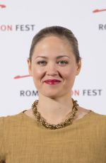 ERIKA CHRISTENSEN at 9th Roma Fiction Fest: Casual Photocall in Rome 11/13/2015