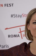 ERIKA CHRISTENSEN at Wicked City Photocall in Rome 11/14/2015