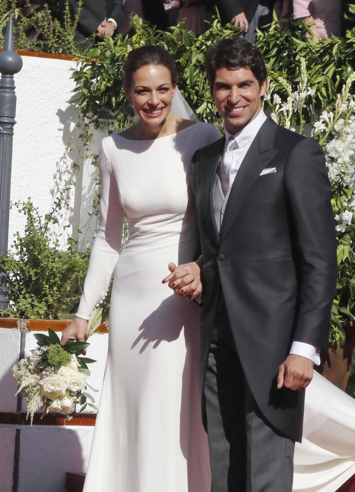 EVA GONZALEZ and Cayetano Rivera at Their Wedding at Mairena del Alcor in Sevilla 11/06/2015